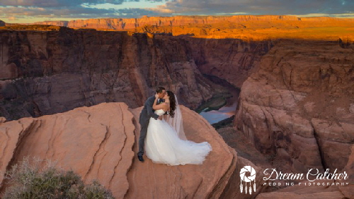 Horseshoe Bend Wedding 1